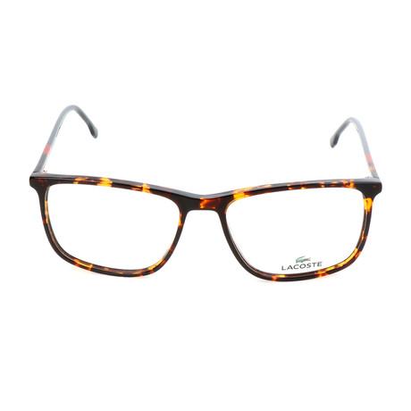 Men's L2807 Optical Frames // Red Havana