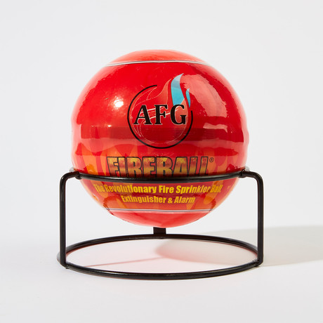 Automatic Fire Extinguisher Ball + Stand // Traditional // 3lbs (1 Ball)