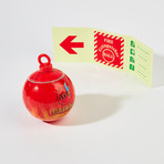 Automatic Fire Extinguisher Ball + Loop // Traditional // Small