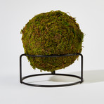 Automatic Fire Extinguisher Ball + Stand // Moss