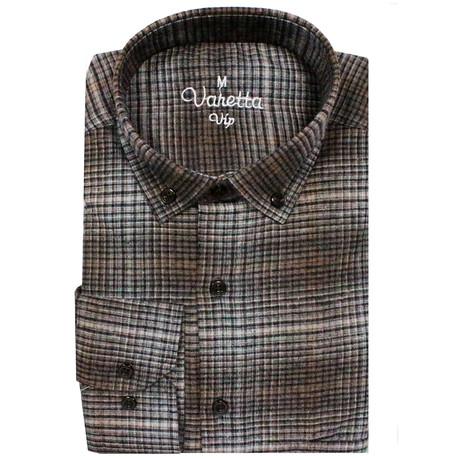 Oscar Classic Fit Shirt // Brown (S)