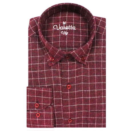 Leroy Classic Fit Shirt // Bordeaux (S)