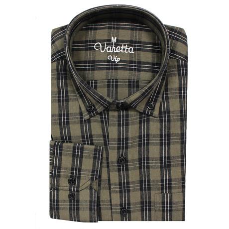 Keaton Classic Fit Shirt // Green (S)
