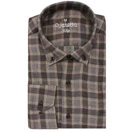 Spencer Classic Fit Shirt // Brown (S)