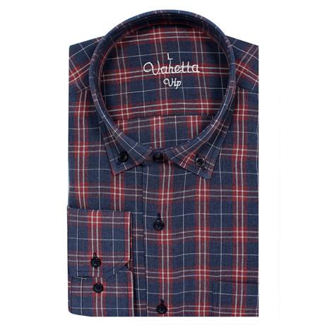Maxim Classic Fit Shirt // Dark Blue (S)