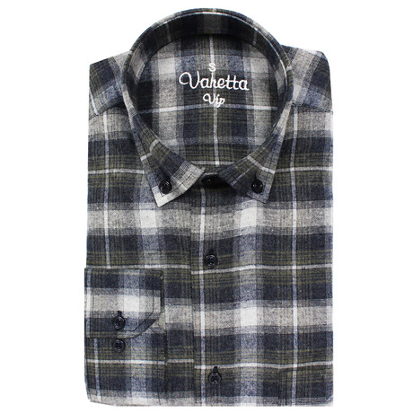 Amaan Classic Fit Shirt // Multicolor (S)