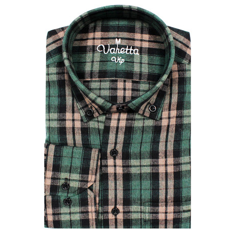 Bowen Classic Fit Shirt // Green (S)