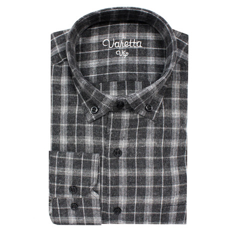 Marvin Classic Fit Shirt // Gray (S)