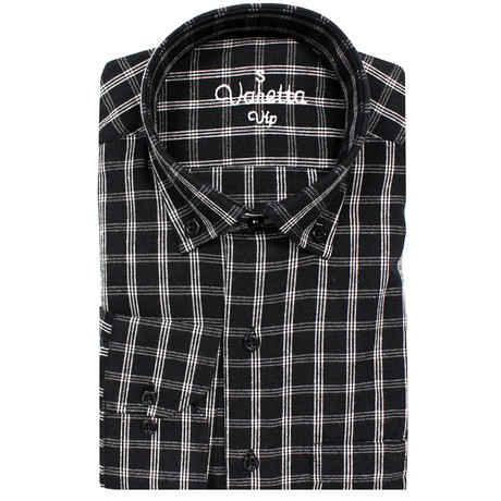 Grant Classic Fit Shirt // Black (S)