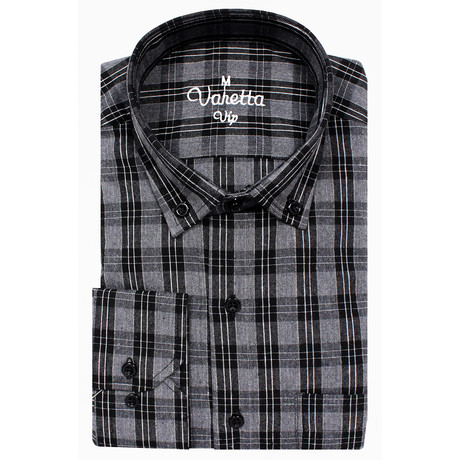Grover Classic Fit Shirt // Smoke (S)
