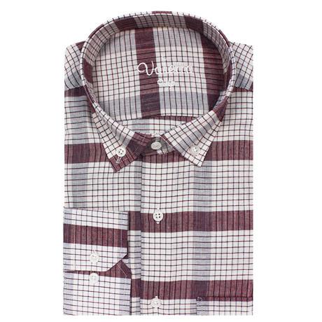 Adil Classic Fit Shirt // Bordeaux (S)