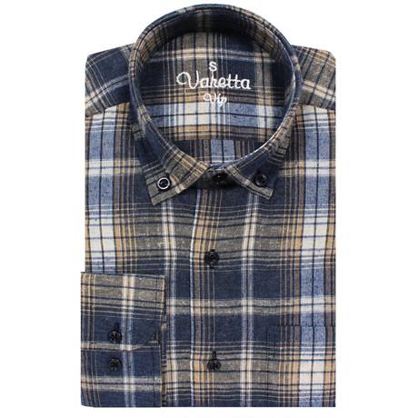Patrick Classic Fit Shirt // Dark Blue (S)