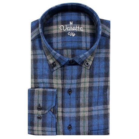 Brett Classic Fit Shirt // Blue (S)