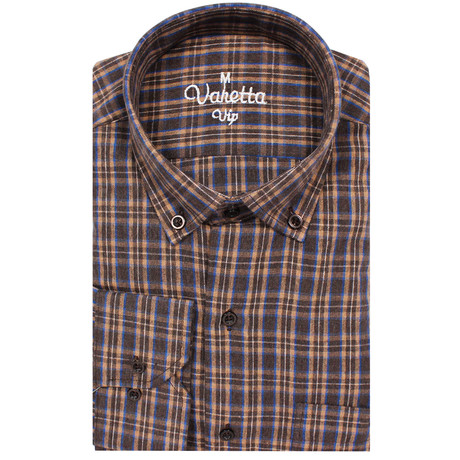 Rufus Classic Fit Shirt // Brown (S)