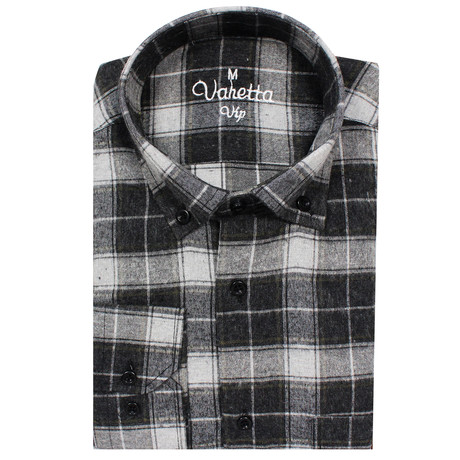Clayton Classic Fit Shirt // Black (S)
