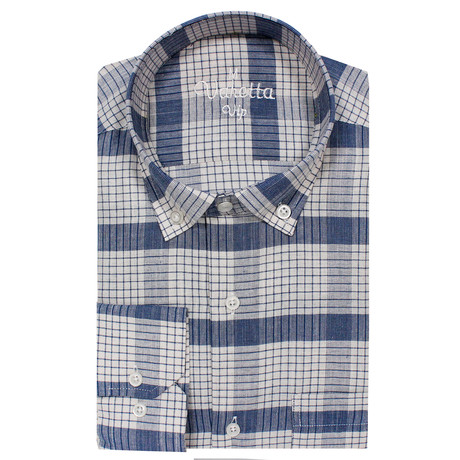 Eugene Classic Fit Shirt // Blue (S)