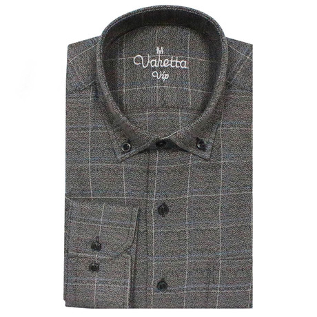 Harold Classic Fit Shirt // Gray (S)