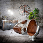 Modern Art Deco Aviator Chair