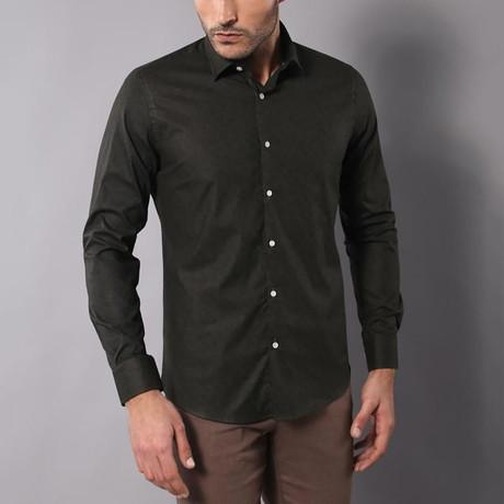 Tory Slim-Fit Shirt // Green (S)