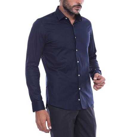 Victor Slim-Fit Shirt // Navy (S)