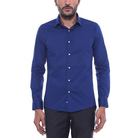 Justin Slim-Fit Shirt // Navy (S)