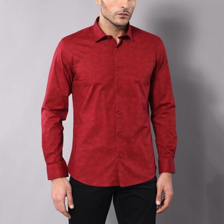Richard Slim-Fit Shirt // Red (S)