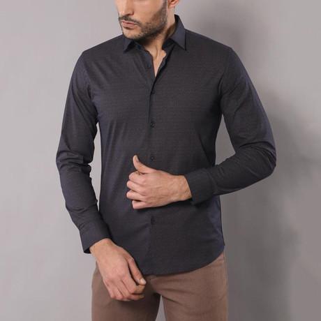 Lewis Slim-Fit Shirt // Smoked (S)