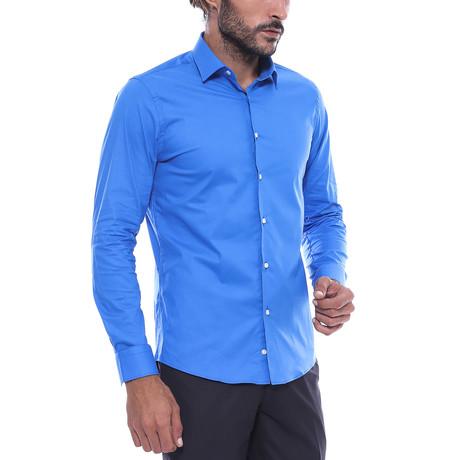 Slim-Fit Shirt // Blue (S)