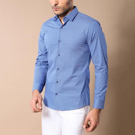 Jax Slim-Fit Shirt // Blue (S)