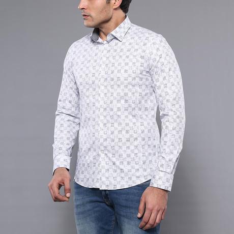 Farhan Slim-Fit Shirt // White (S)