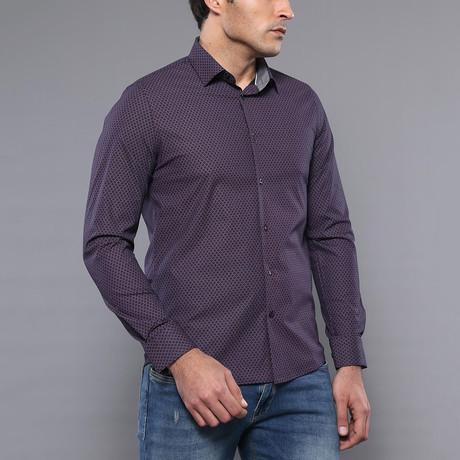 Joel Slim-Fit Shirt // Brown (S)