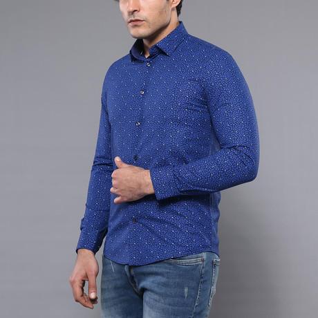 Imani Slim-Fit Shirt // Blue (S)