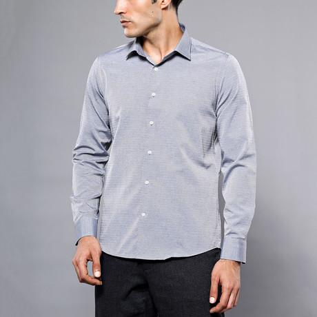 Alfie Slim-Fit Shirt // Gray (S)
