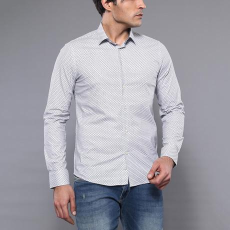 Stewart Slim-Fit Shirt // White (S)