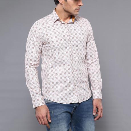 Harley Slim-Fit Shirt // Brown (S)