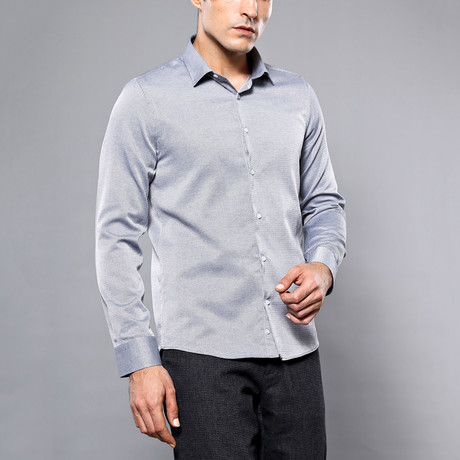 Kevin Slim-Fit Shirt // Gray (S)