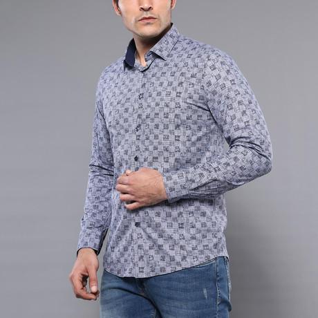 Ajay Slim-Fit Shirt // Smoked (S)