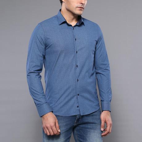Harrison Slim-Fit Shirt // Indigo (S)