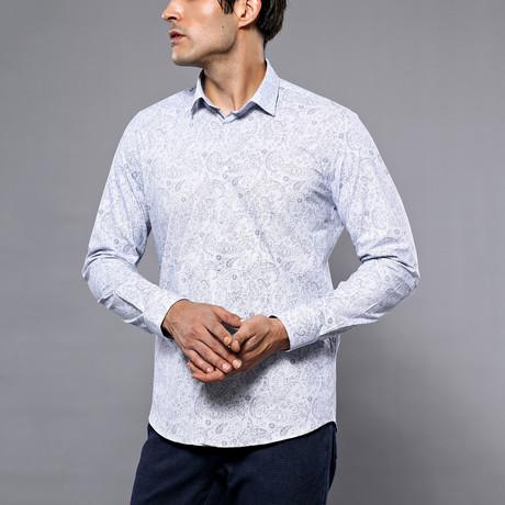Alston Slim-Fit Shirt // White (S)