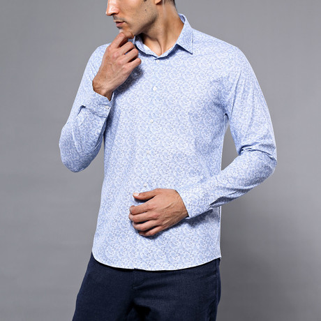 Shanan Slim-Fit Shirt // Light Blue (S)