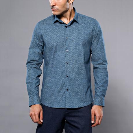 Randall Slim-Fit Shirt // Teal (S)