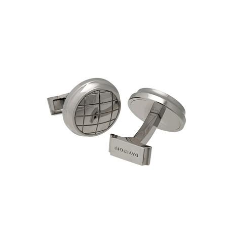 Davidoff Valero Stainless Steel Cufflinks // 20924