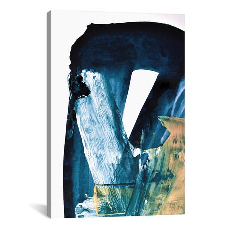 "Blue Blend // Dan Hobday (12""W x 18""H x 0.75""D)"