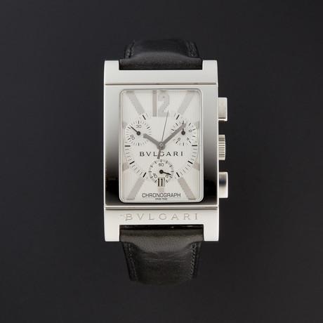 Bulgari Rettangolo Chronograph Quartz // RTC49C6LSLD // Store Display