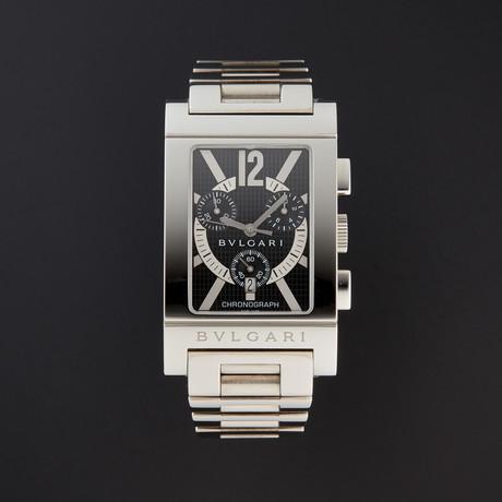 Bulgari Rettangolo Chronograph Quartz // RTC49BRSSD // 1966299 // Store Display