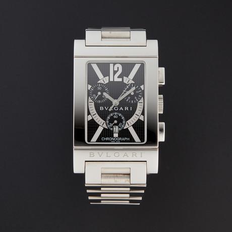 Bulgari Rettangolo Chronograph Quartz // RTC49BRSSD // 1966300 // Store Display