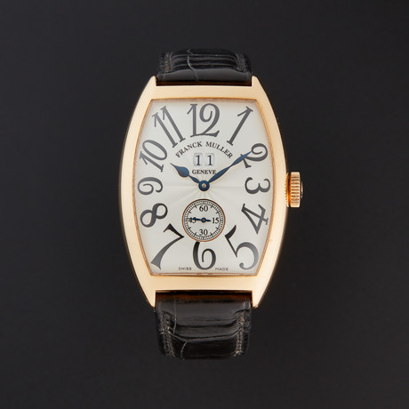Franck Muller Cintree Curvex Automatic // 6850 S6 GG // Pre-Owned