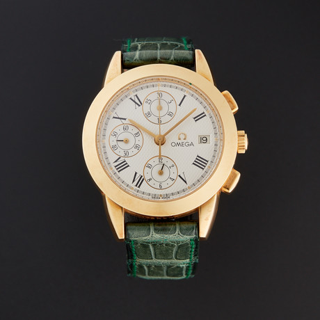 Omega Louis Brandt Chronograph Automatic // 6299.80.00 // Store Display