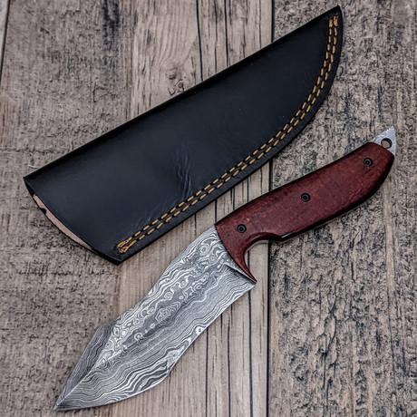 Red Damascus Hunter