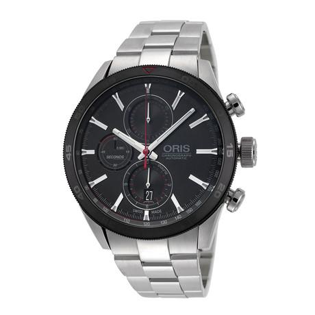Oris Classic Date Chronograph Automatic // 01-774-7661-4424-07-8-22-87